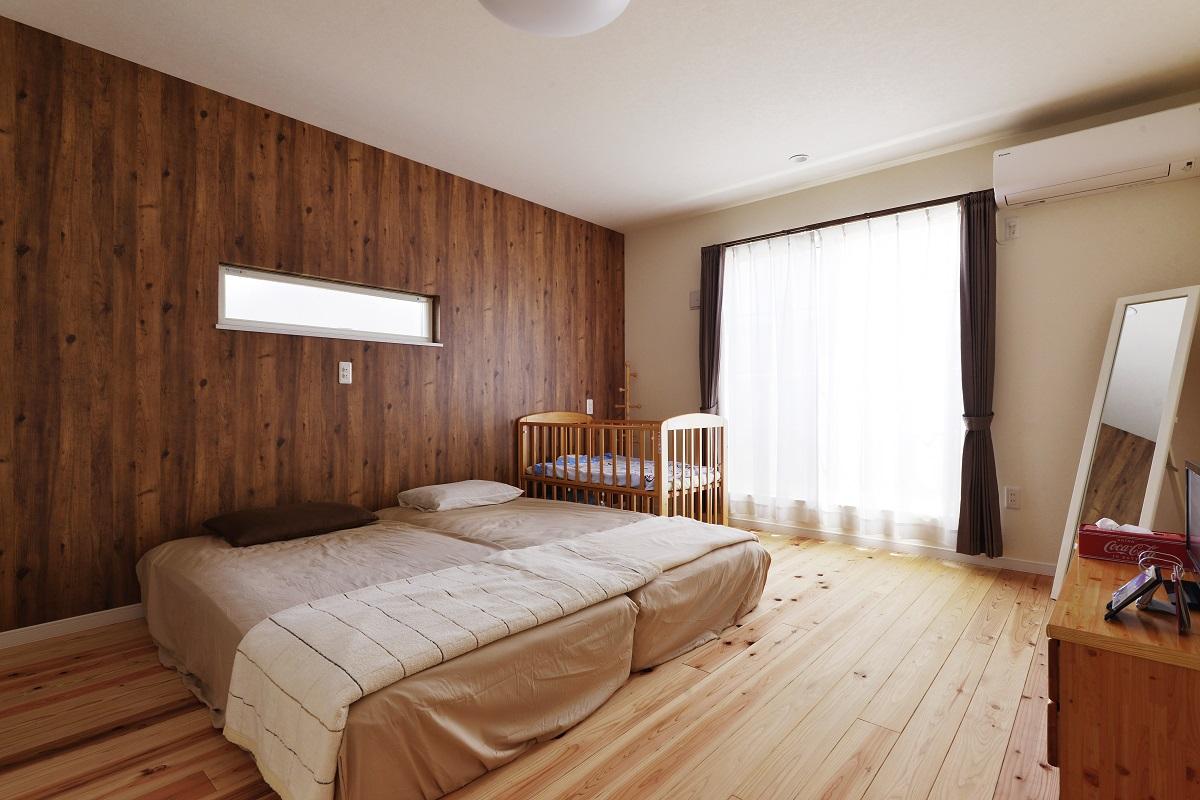 ひろーい寝室